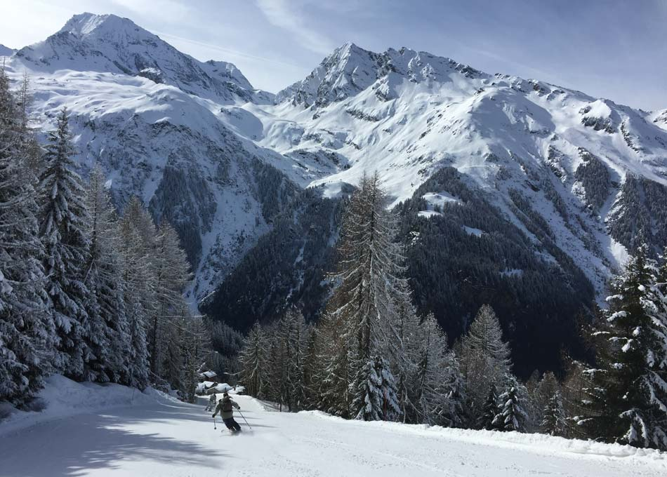 Uncrowded Pistes