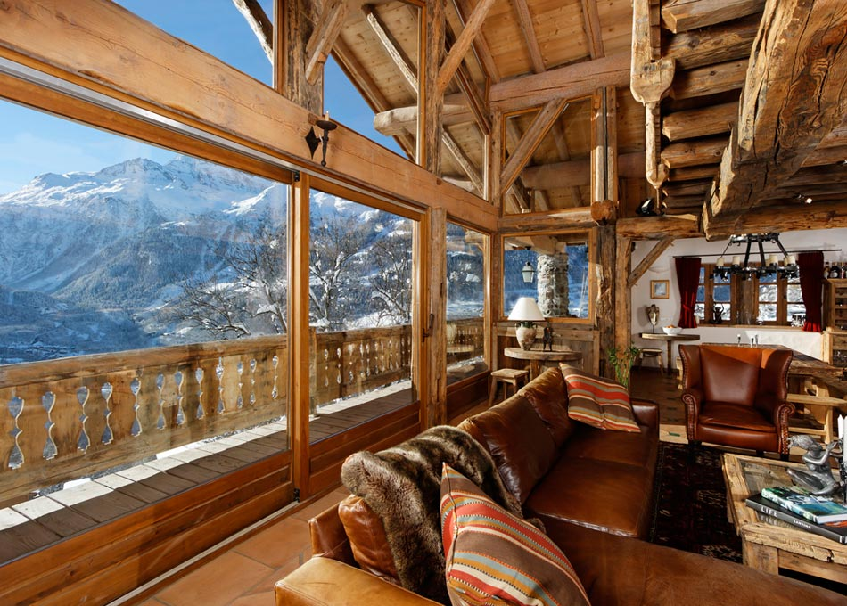 luxury catered ski holiday chalet merlo sleeps 12 wintersports and ski holidays in france. Black Bedroom Furniture Sets. Home Design Ideas